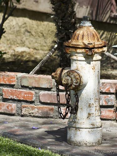 Yard art hydrant