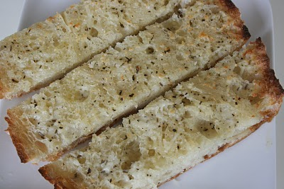 Italian Garlic Bread @ Eat at Allie's