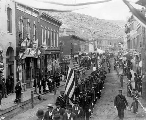 1890's parade, Denver