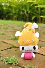 Kooki Plush [1] (mochikaka) Tags: doll soft handmade felt plush madetoorder kooki kookizu