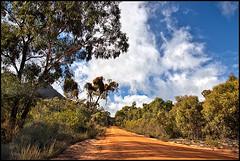 the road to Mount Zero (Luke Tscharke) Tags: road clouds grampians mount dirt zero cloudage lushaki