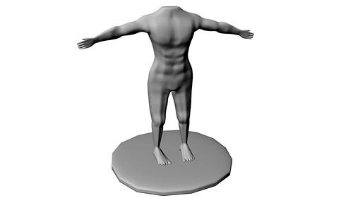human model08