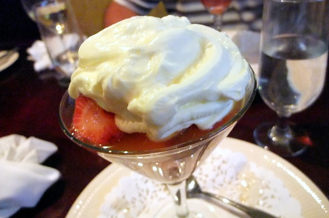 Strawberries with Grand Marnier and Whip Cream
