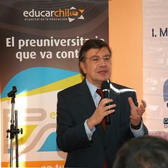 Ministro de Educación, Joaquín Lavín