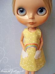 Rainbow Pocket dress