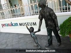 Old Man at Peranakan Museum