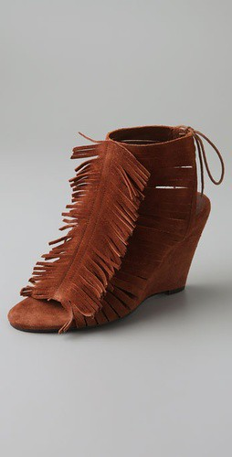 joie rock steady fringe booties