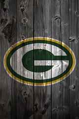 Green Bay Packers Wood iPhone 4 Background