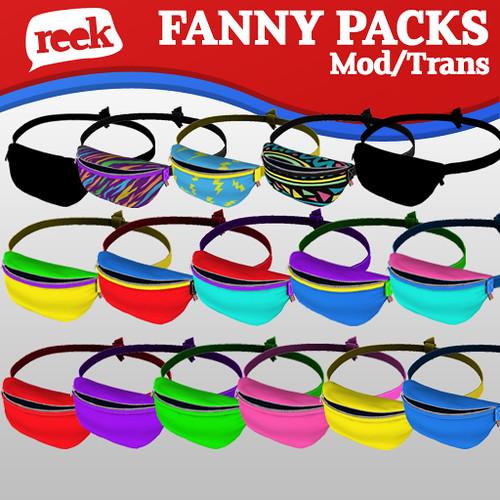 Reek - Fanny Pack Gatcha Ad