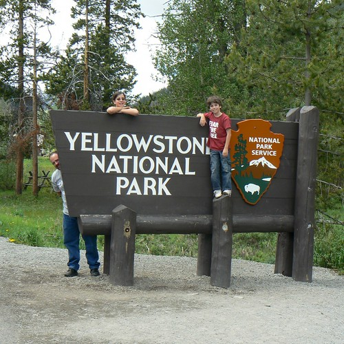Yellowstone National Park . . . we LOVE this place!