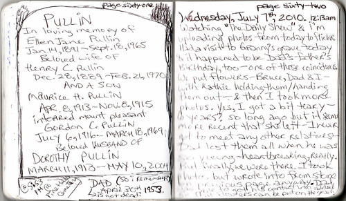 Journal #25 pages 61 & 62