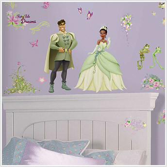 Princess and the Frog; Giant Princess Wall Stickers