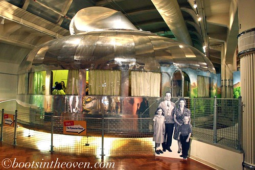The only Dymaxion House in existence