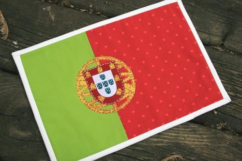 portugal flag quilt
