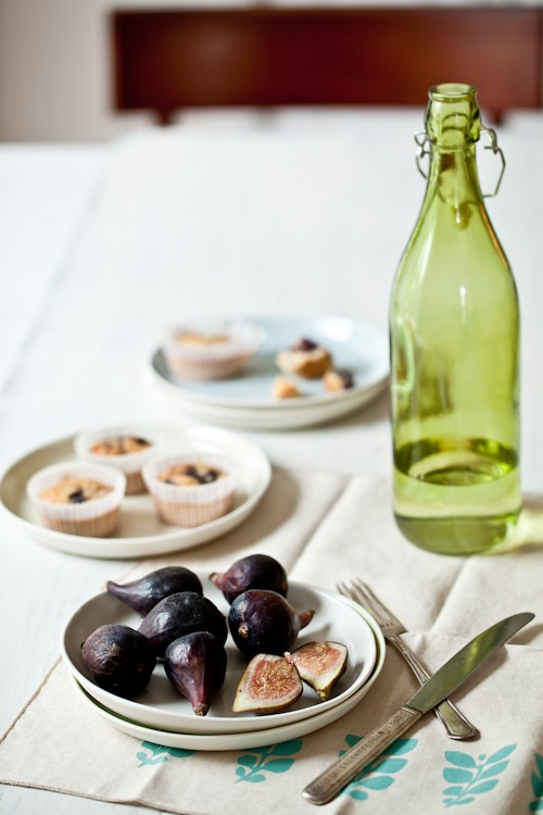 Fresh Figs & Financiers