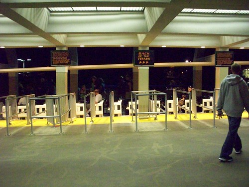 Cedar Point - Magnum Station during the ERT