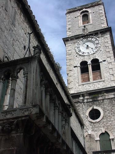 Szent János templom óratornya, Sibenik