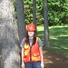Erin Thomas  Senior Forestry major interning with Weyerhaeuser Corporation