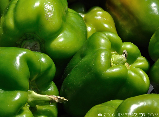 Green Peppers for Sale