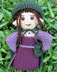 Elf princess doll - hood up