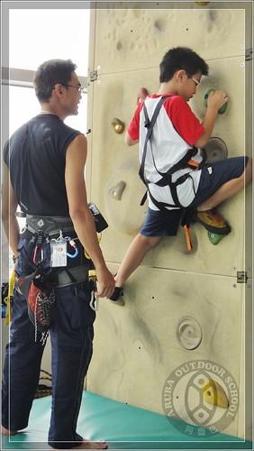 20100707阿魯巴攀岩課程夏令營395
