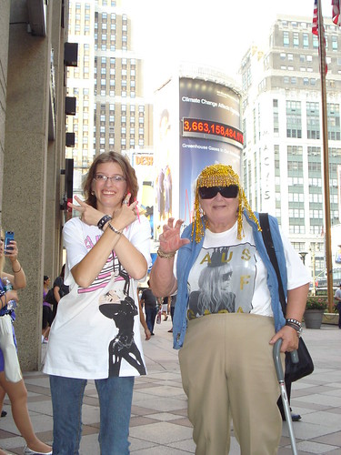 07-06-10 Fans at Lady Gaga Concert at MSG, NYC, NY