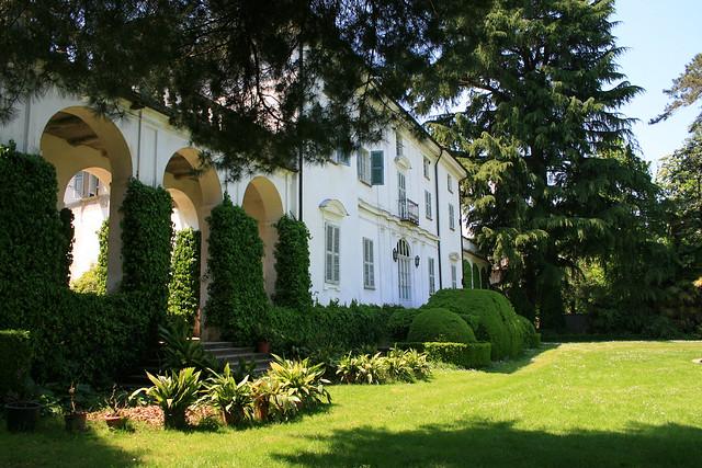 foto del Palazzo Malingri di Bagnolo Piemonte in Piemonte Italia