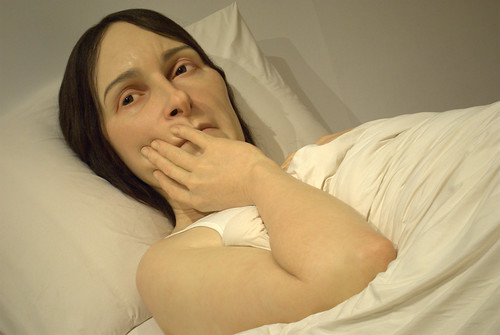 Ron Mueck exhibit, Gallery of Modern Art