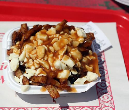Poutine from Chez Tipit in Rivière-Beaudette, Quebec