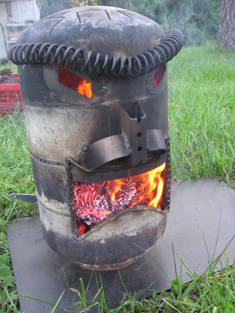 The Stuff I Made I Made A Tiki Burn Barrel Outdoor