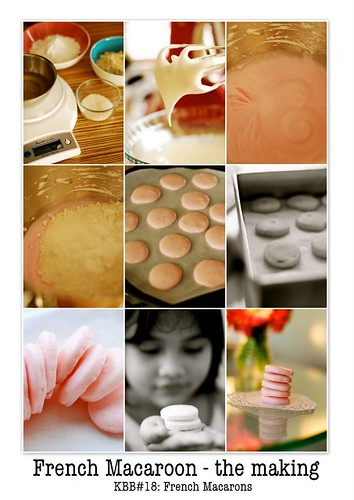 French Macarons - the making