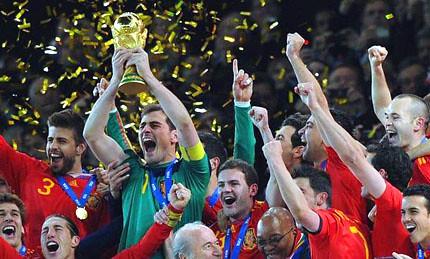 Campeones del Mundial 2010