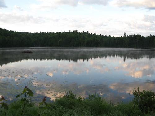 Lac Castor à l'aube (5h30)
