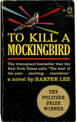 To Kill A Mockingbird_tatteredandlost (T and L basement) Tags: ephemera paperback harperlee vintagepaperback tokillamockingbirdcover1962