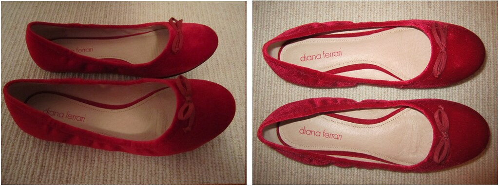 Red Velvet Shoes