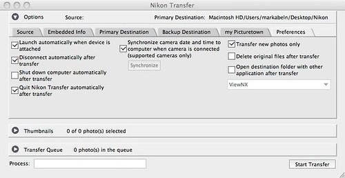 Nikon Transfer