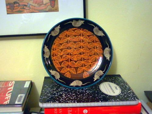 Armadillo plate