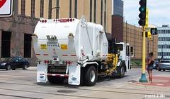 City of Minneapolis Garbage Truck (TheTransitCamera) Tags: city truck garbage minneapolis heil
