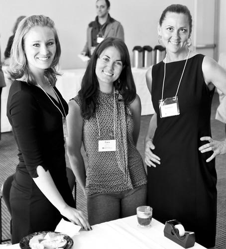 Arts for LA Staff: Camille Schenkkan, Tara Stafford, Danielle Brazell