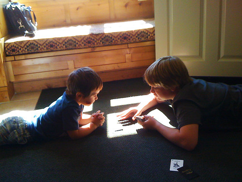 mason & carter play cards