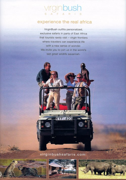 virgin bush safaris
