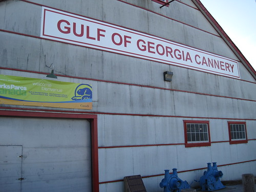 The Gulf of Georgia Cannery National Historical Site
