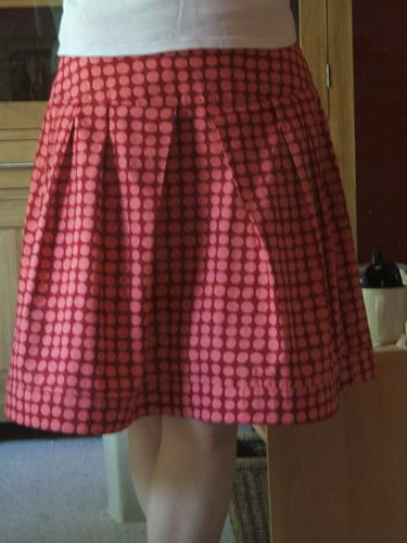 Skirt front view