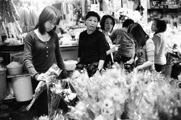 Flower Shop at Graham Street Market