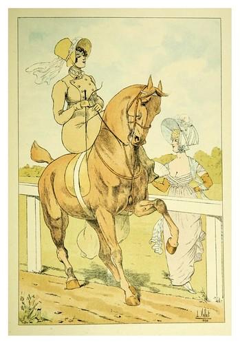 020-El encuentro 1805-Le chic à cheval histoire pittoresque de l'équitation 1891- Louis Vallet