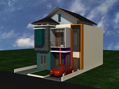 Desain Rumah Minimalis di Jatiasih  by Indograha Arsitama Desain & Build