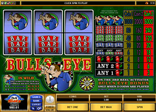 Bulls Eye slot game online review