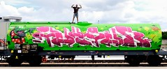 "Pencil-Zeus40 at ""Kings of Green"" Foggia 2010' (Zeus40 and Wildboys) Tags: italy green pencil writing graffiti kings naples opium rota wildboys of zeus40 lotras"