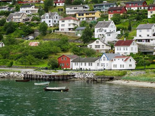 Aurland - Aurlandsfjorden, Norway