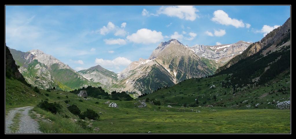Valle de Otal al atardecer